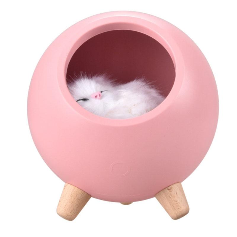 Bluetooth speaker pet house speaker night light rechargeable bedroom bedside lamp table lamp creative desktop atmosphere