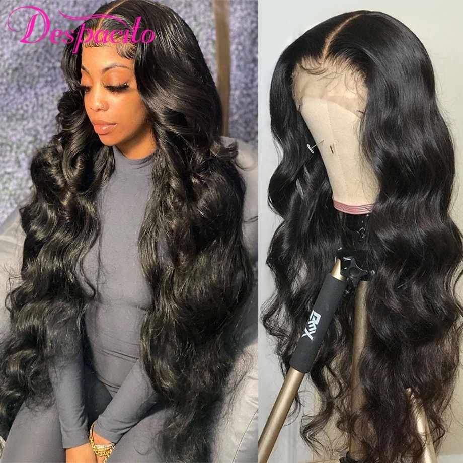 Brazilian Wig Sale Natural Hair Lace Front Human Hair Wigs For Women Body Wave 13x4 13x6 Transparent Lace Frontal Wig Cheap Sale