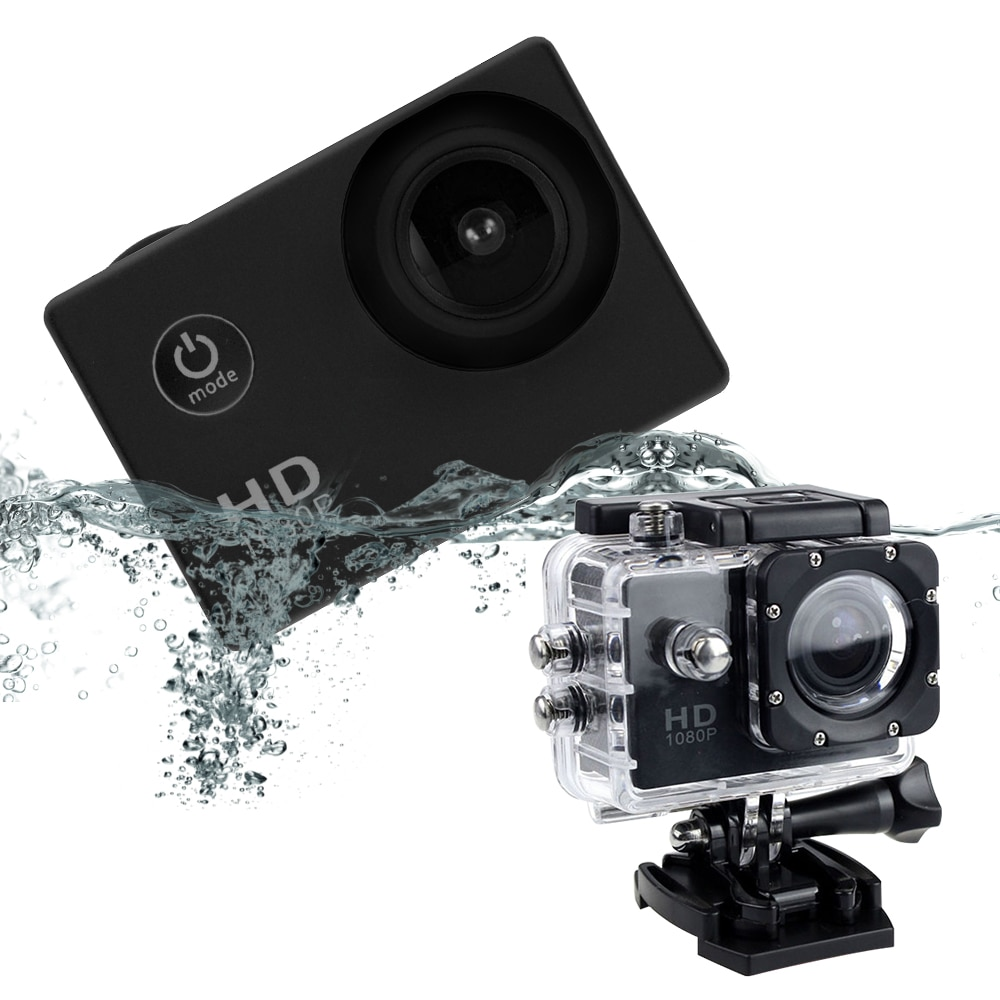 DV Action Camera Sport Mini Camera With Screen  Waterproof Go Pro For Bicycle Climbing Diving Adventure Cam