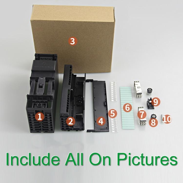 caso shell para simatic plc 6ag1334 0ke00 2ab0 s7 300 20 pinos painel de reparacao
