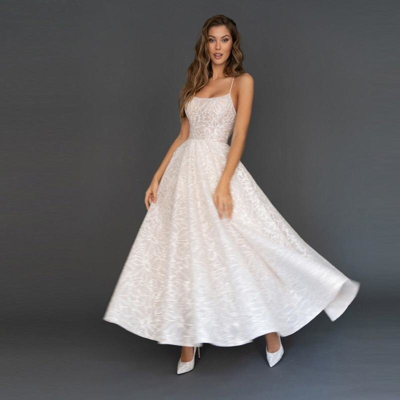 Party Dresses White Homecoming Backless Tulle Sequins Patchwork Dress Wedding Dance Queen Return To Home
