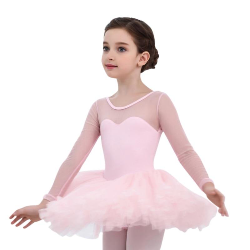 Vestidos de Ballet para niñas vestido para niños vestidos de baile princesa bebé niña leotardo traje de baile