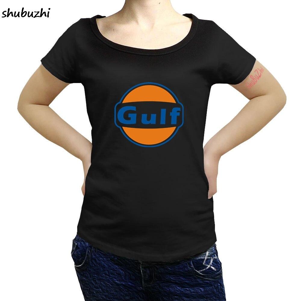 Классная футболка с логотипом Мексиканского залива, новый модный топ, бесплатная доставка, shubuzhi officia, 100% хлопок, Брендовые женские футболки ...