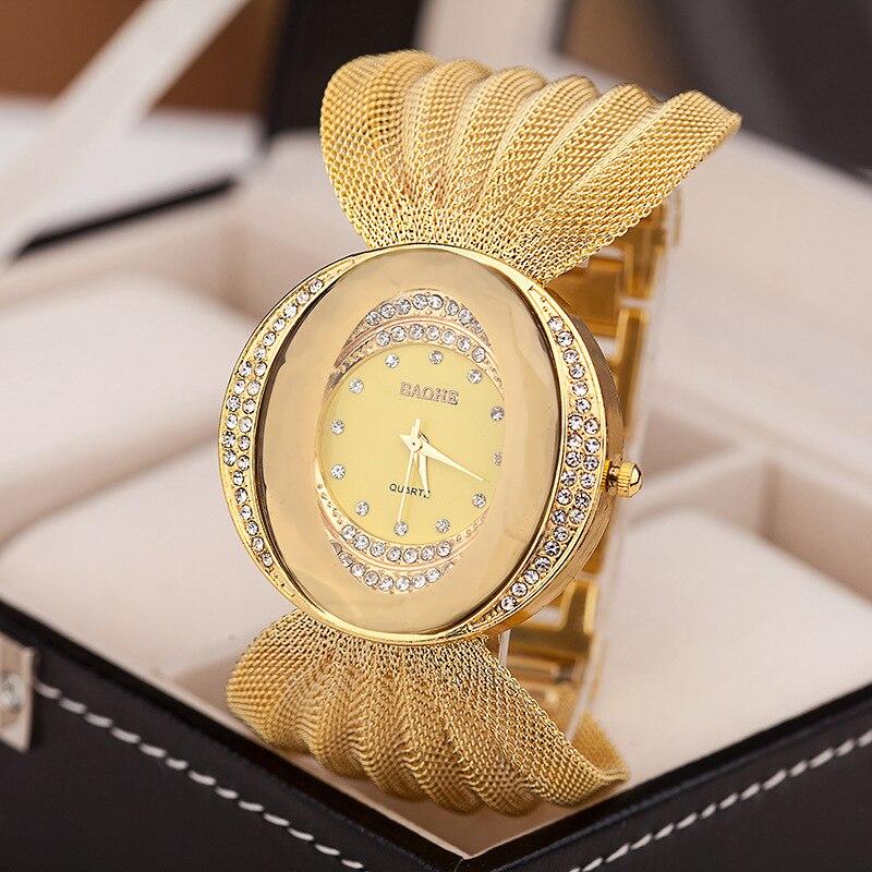 Lism, reloj de lujo para Mujer, Pulseras de cristal de zafiro resistentes al agua para Mujer, doble Displayhanah Martin, cuero sintético Digital, novedad de 2019