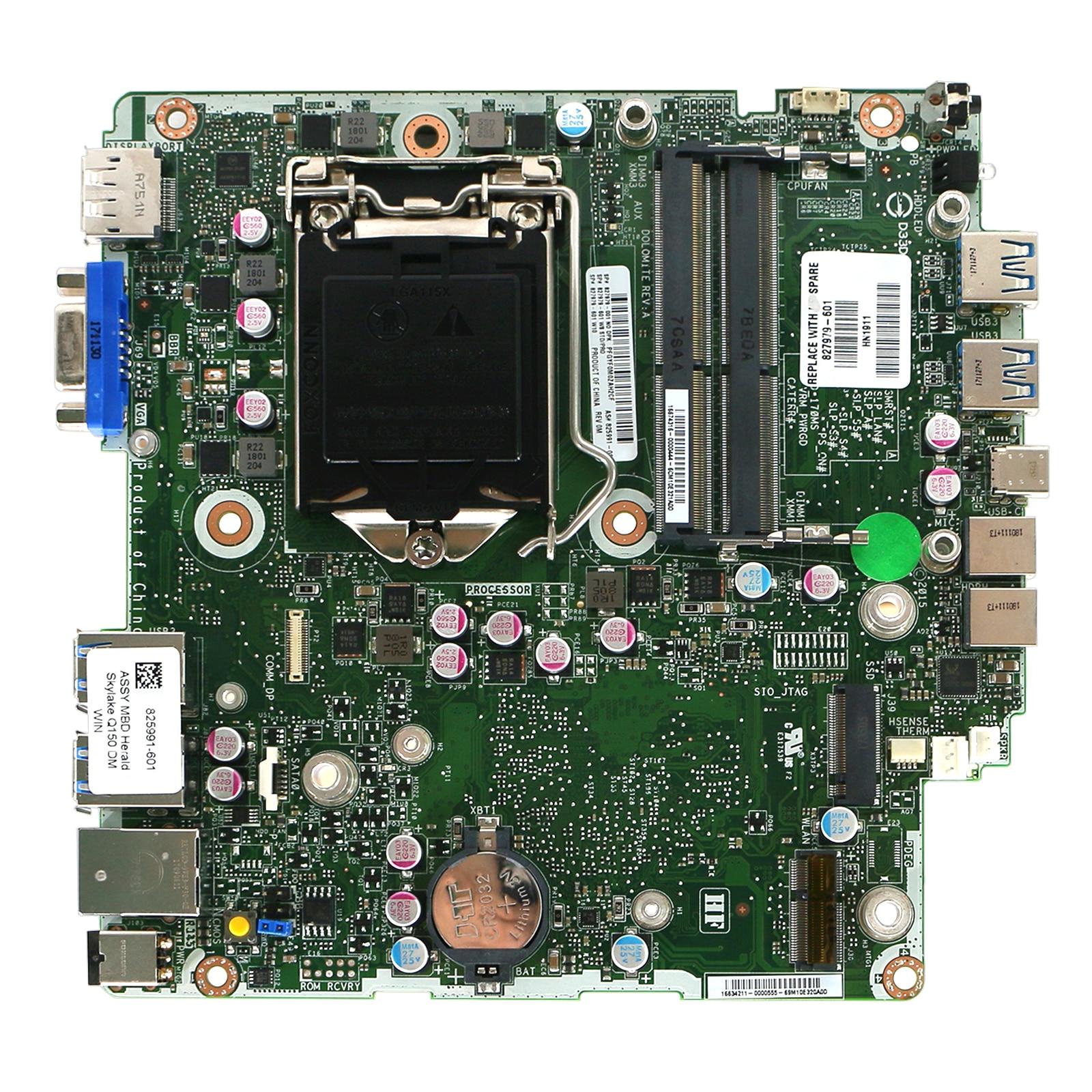 Pour HP ProDesk 600 G2 DM Mini carte mère 827979-001 825991-001 carte mère entièrement testée