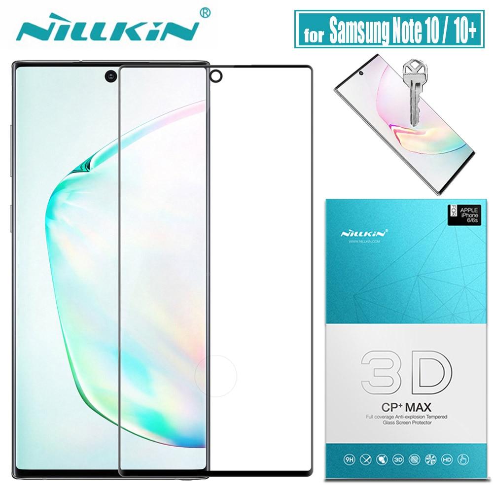 Для Samsung Note 10 Plus 5G Защитное стекло для экрана Nillkin 3D полное покрытие защитное закаленное стекло для Galaxy Note 10 + Note10
