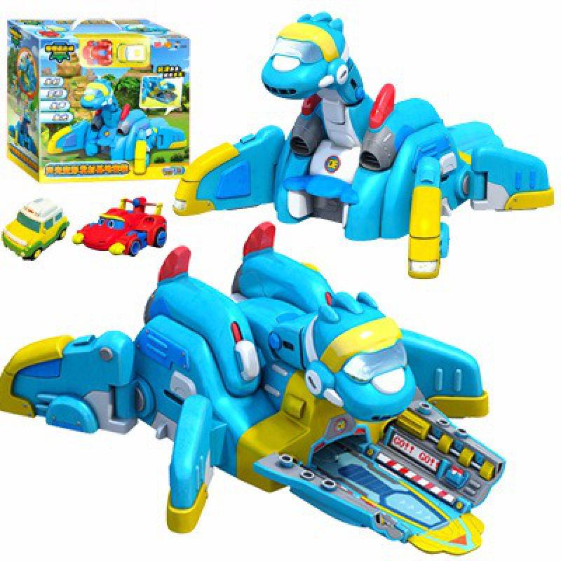 Producto en oferta, Deformación de coches Gogo Dino, Base de liberación del mapa, Rex / Ping/Tomo, dinosaurio de juguete de transformación para niños, regalo para niños