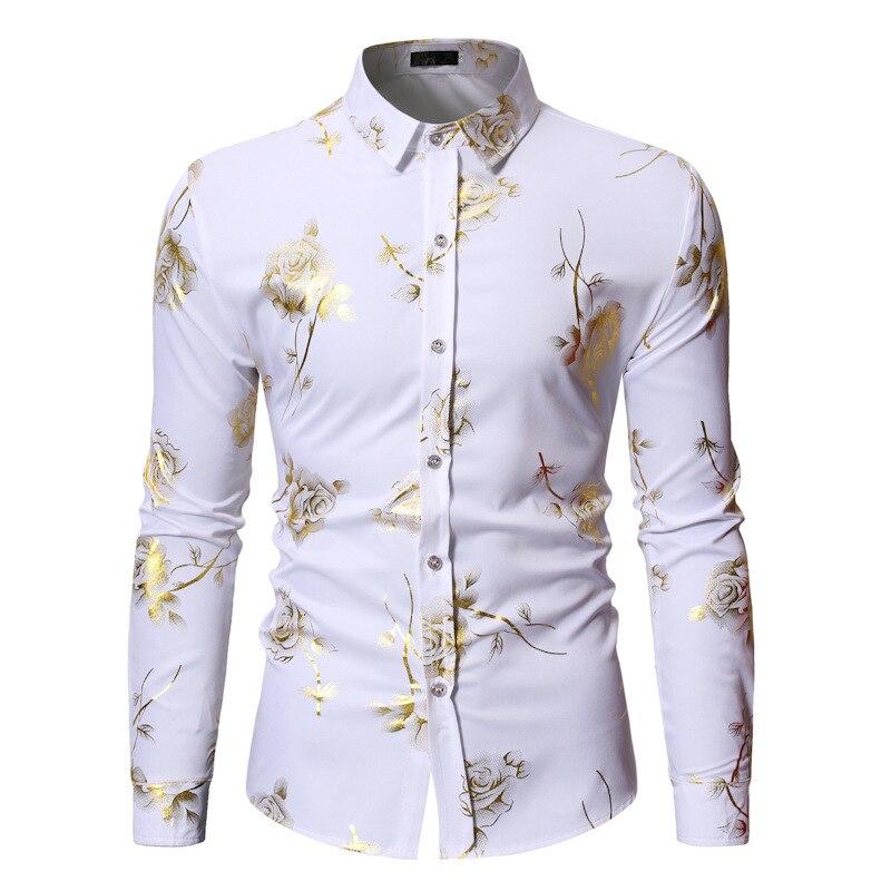 Мужские рубашки, рубашки с длинным рукавом для мужчин, рубашки с принтом, весенние мужские Рубашки, Топы для мужчин