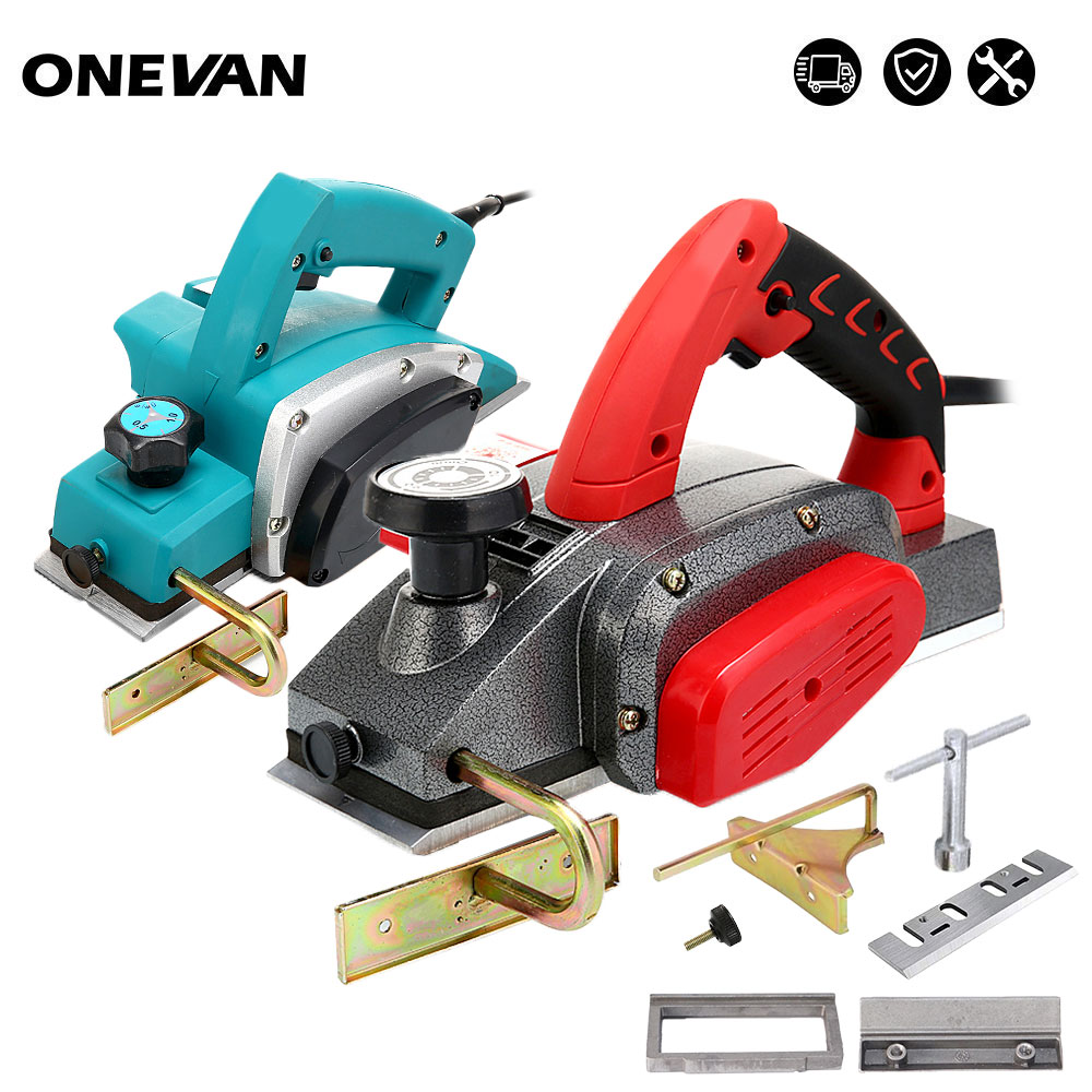 220V Electric Hand Planer 1200W 1600W Multifunctional Wood Cutting Power Tools with 1/2mm Adjustable Cut Depth Power Tool