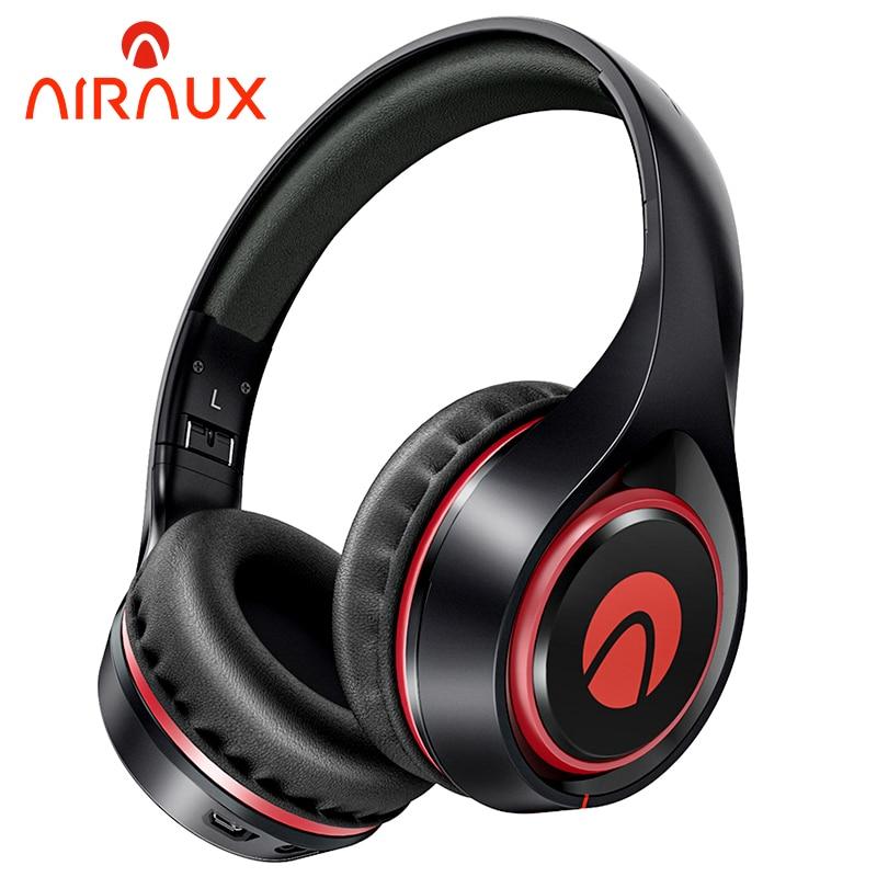 BlitzWolf AIRAUX AA-ER2 Bluetooth-compatible Music Headset Dynamic Driver HiFi Headphone Breathing Light Ultra-comfort Earphone