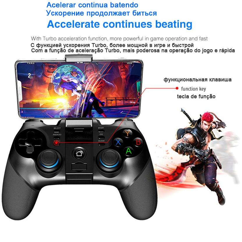 Купить с кэшбэком Gamepad Pubg Controller Mobile Joystick For Phone Android iPhone PC Smart TV Box Bluetooth Trigger Console Game Pad pabg Control