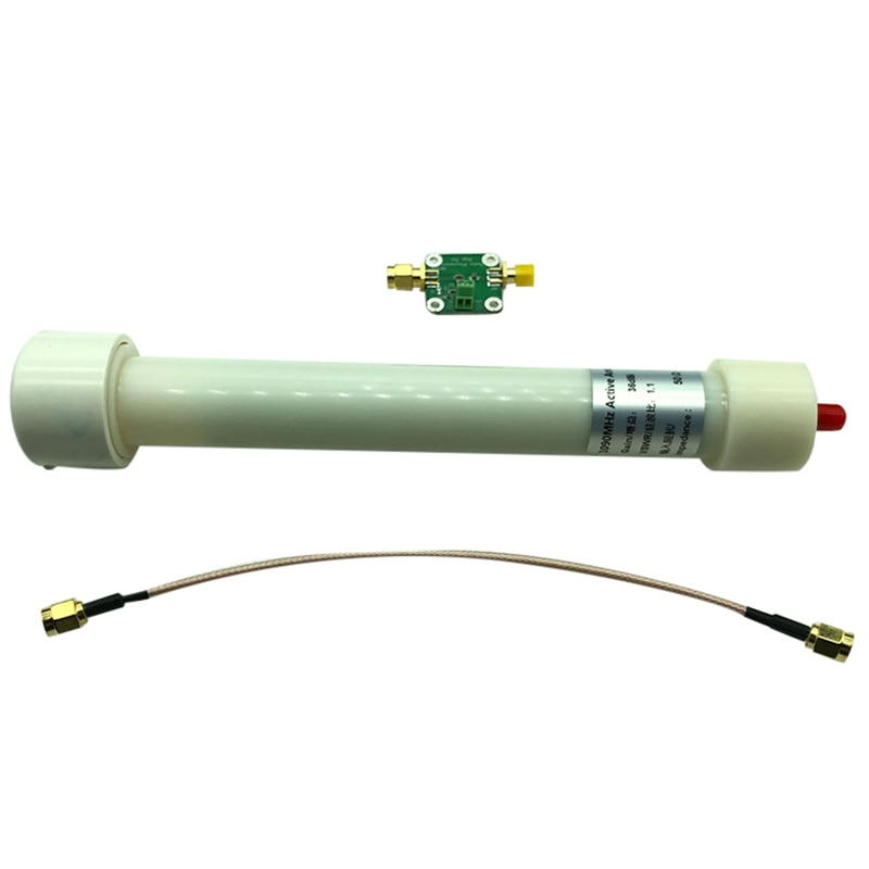 New 1090MHZ 36DB SMA Active ADS-B PCB Antenna with Biaser Tee Low Noise Amplifier