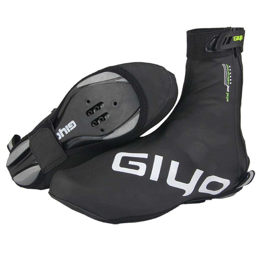 1 Pair Cycling Shoe Covers Waterproof Windproof Warm Man Woman Overshoes Road Bicycle Bike MTB Winte