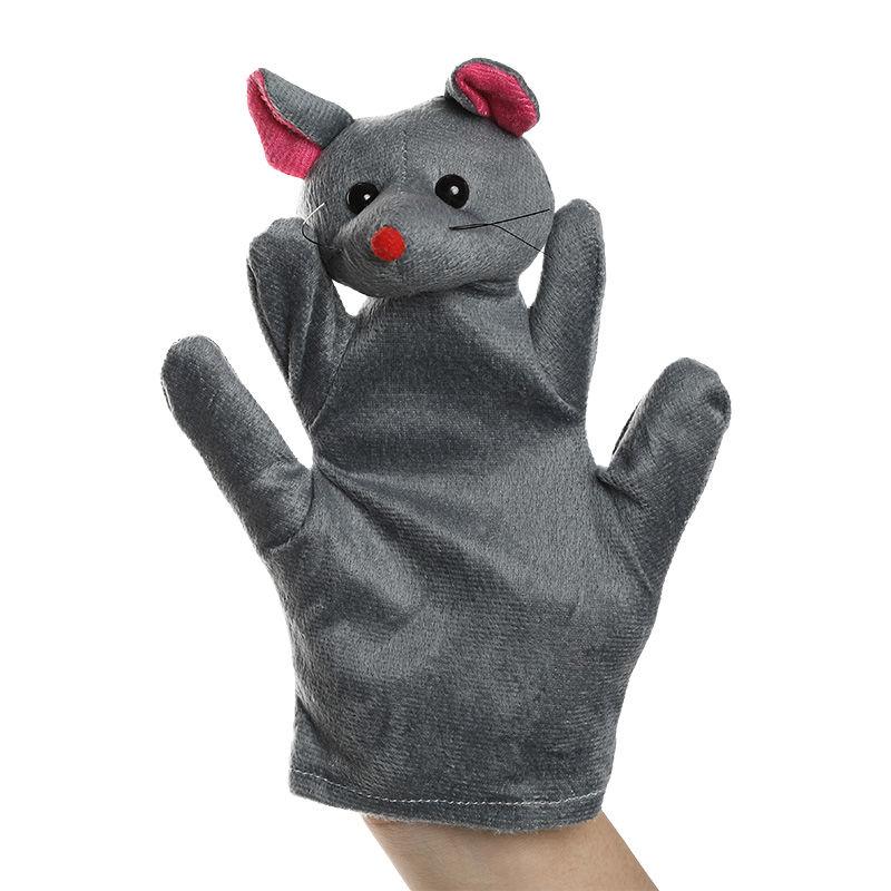 Childrens toys Hand Puppet Toys For Children Plush animal gloves Animal Head Gloves