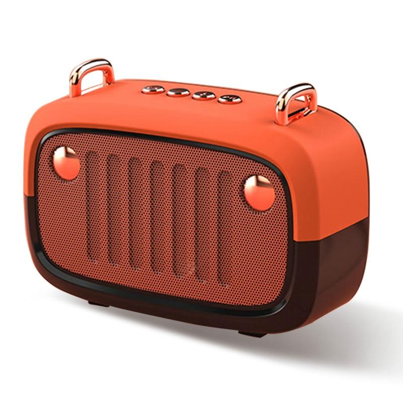 Bluetooth V5.0 Speaker Long Worktime Outdoor Loudspeaker Support TF Card/U Disk/FM Wireless Subwoofer