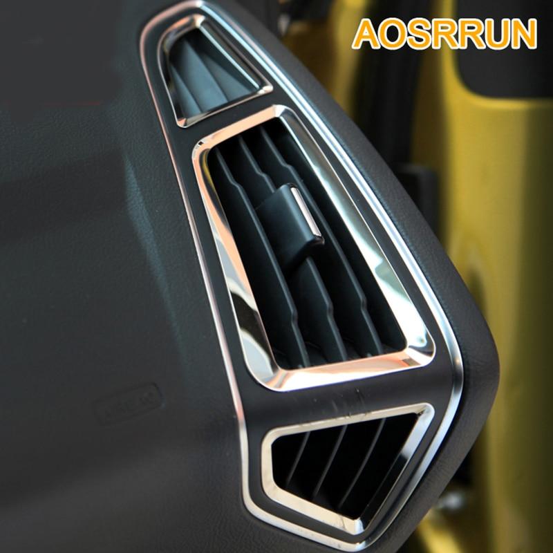 Air-conditioning outlet sequins decoration For Ford Focus 3 mk3 sedan hatchback 2012 2013