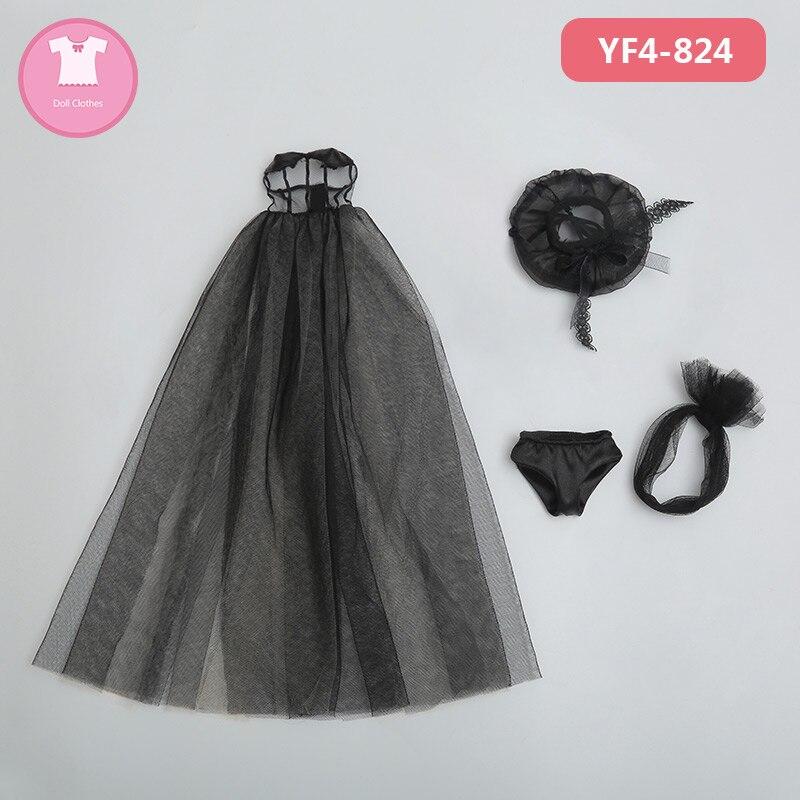 Bjd roupas naya menina corpo 1/4 bjd msd vestido bonito boneca brinquedos acessórios roupa luodoll