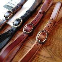vintage belt buckle ultra wide 3 2 cm mens belt luxury first layer leather pure copper handmade ceinture jeans belt cowskin