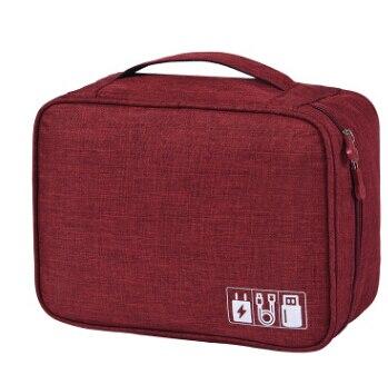 Digital Storage Bag Travel Gadget Organizer Case For Hard Disk/USB/Data Cable