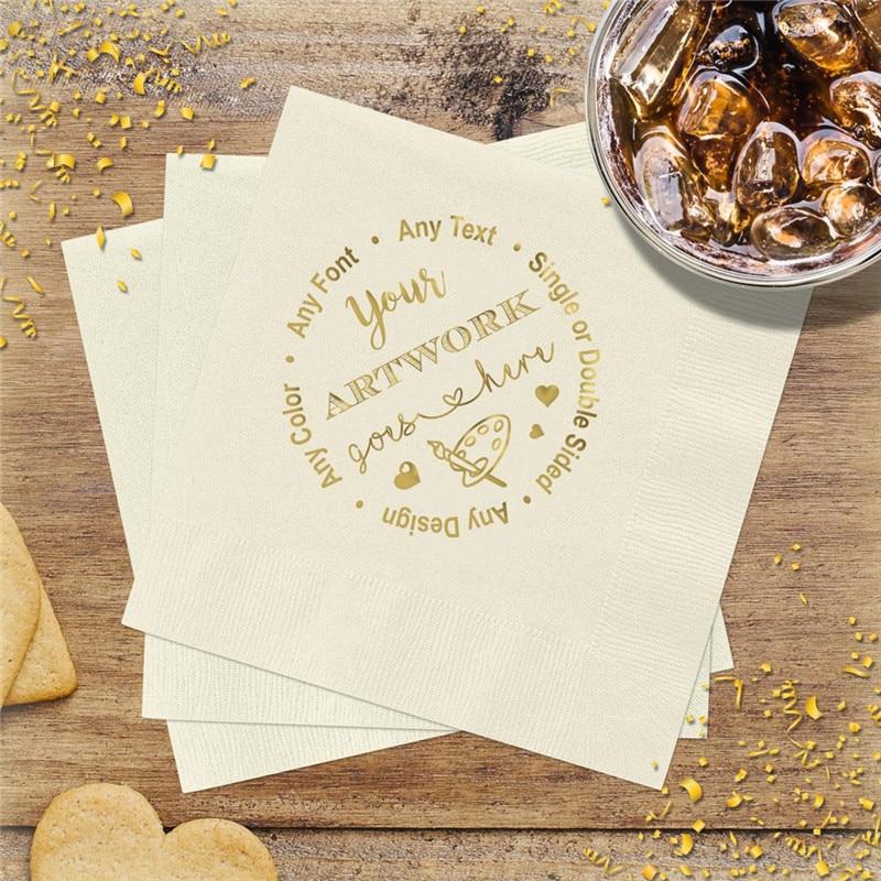 Empresa de Casamento Festa de Negócios Trabalho de Arte Logotipo Personalizado Design Guardanapos Monograma Evento Você Nomeá-lo Nós Podemos Fazê-lo! Primeira Comunhão
