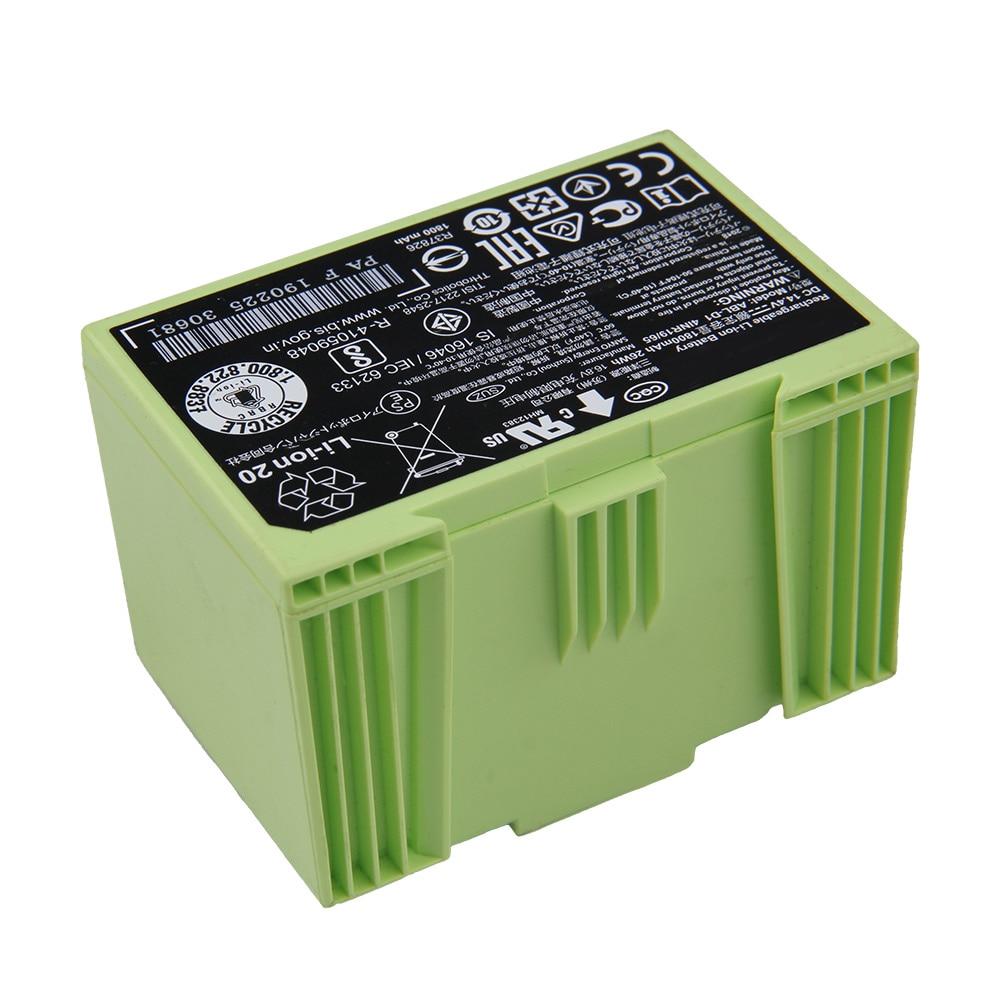 Original Replacement Battery For iRobot Roomba i8 i7 i7+ e6 e5 i7158 i4 i31502F e6198 +i8550 7550 ABL-D1 Genuine Battery 1800mAh enlarge