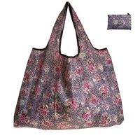 large grocery bags reusable shopping bags large handbags foldable womens shoulder bags handbags heavy storage bags