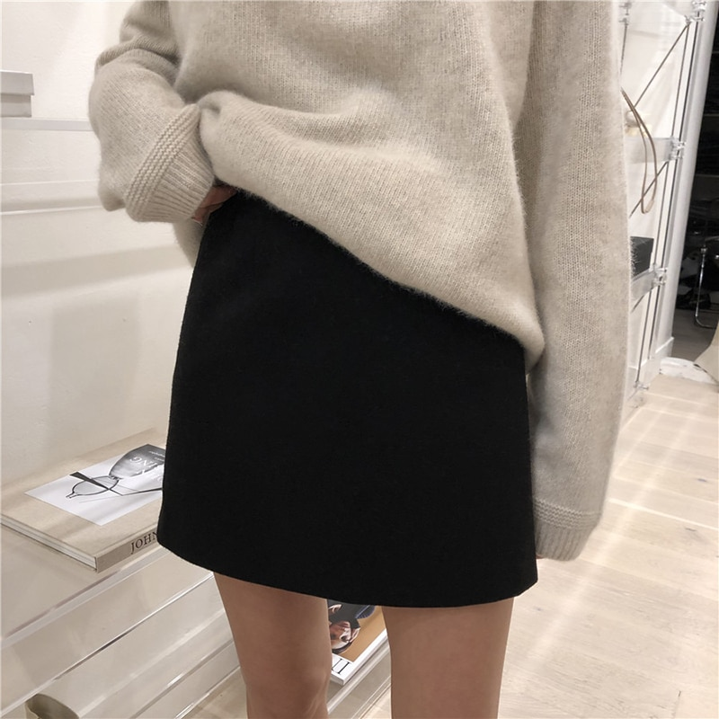 2021 Autumn Winter Cashmere Sweater Women Fashion Round Neck Sweater Loose 100% Wool Sweater Batwing Sleeve Plus Size Pullover enlarge