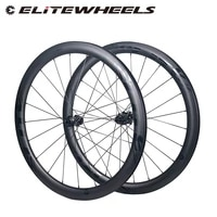 elitewheels 700c road disc carbon wheels super light rd16 low resistance center lock hub cyclocross cycling wheelset shimano xdr