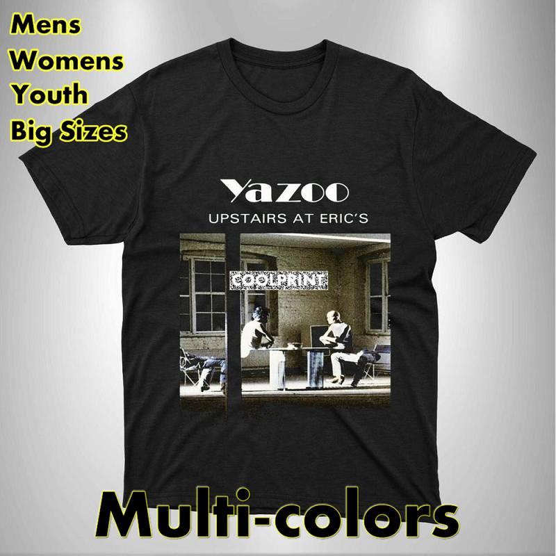 Yazoo-Camiseta de manga corta para hombre, prenda de vestir, de estilo punk,...