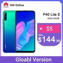 "Huawei P40 Lite E 4 Gb 64 Gb 48MP Triple Ai Camera 6.39 ""Fullview Punch Screen Mobiele Telefoon 4000 mah Vingerafdruk"