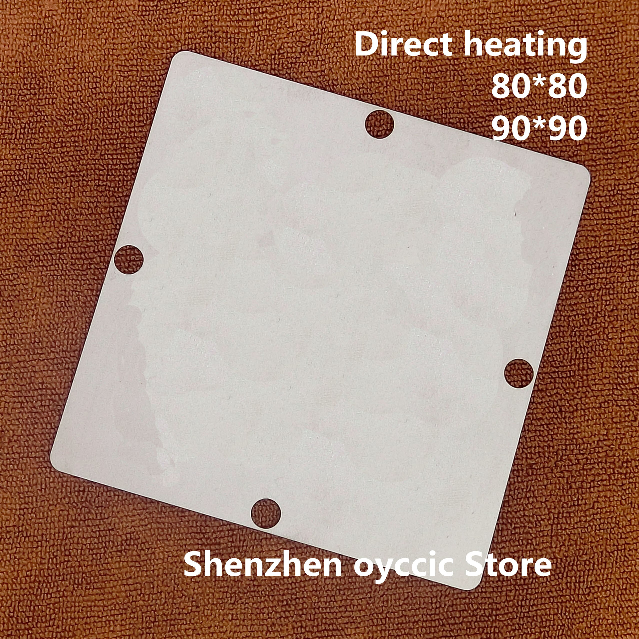 Calefacción directa 80*80 90*90 SC505709BMZP33 8J28H SC505709 plantilla BGA