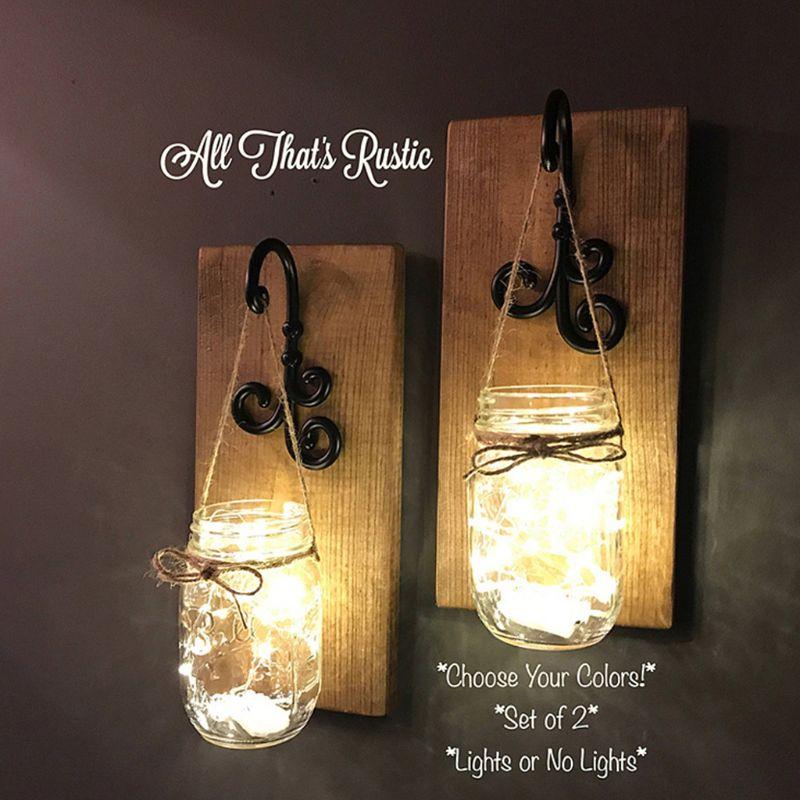 20 LED Solar Fairy Xmas Light Lamp Mason Jar 2M Warm White Lights Hanging Lantern Outdoor Patio Garden Decor Dec.29