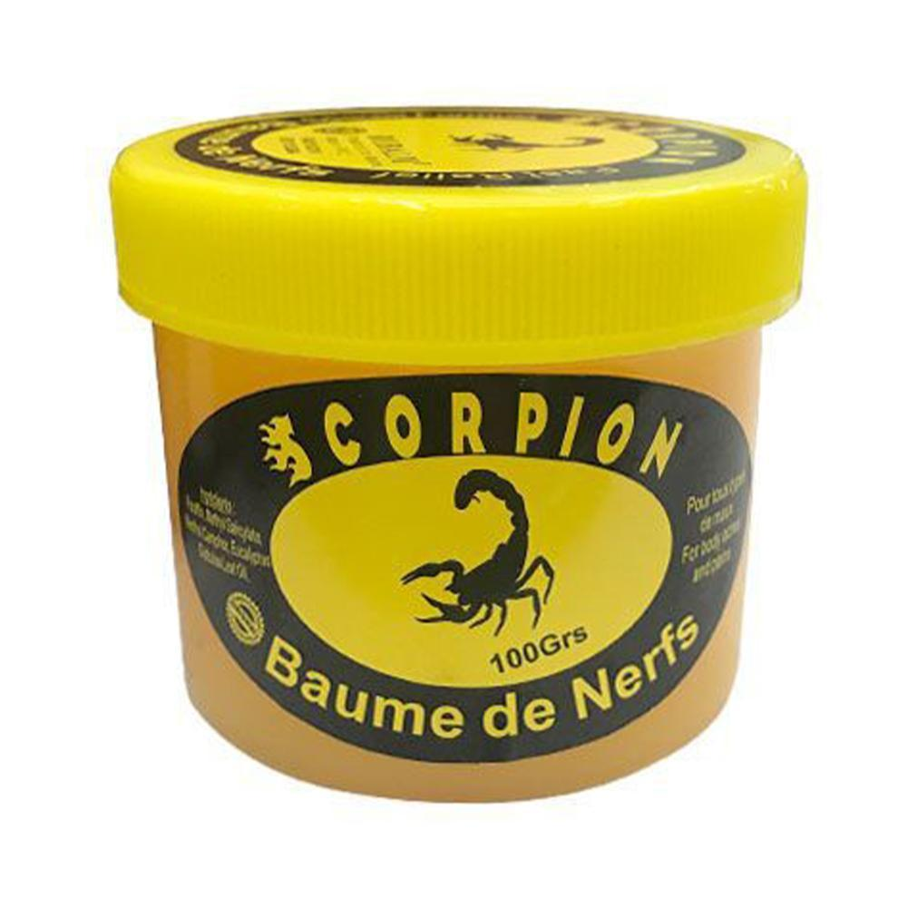 Scorpion Pain Relief Ointment Relieves Rheumatism, Back Muscle Relieves Pain, Low Cramps, Fatigue Sc