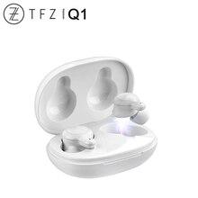 TFZ Коко Q1 наушники вкладыши TWS с Ture Беспроводной Bluetooth 5,0 динамическим драйвером спортивные наушники Hi Fi аудио AAC/АБС пластик/SBC сопротивление разрыву CVC + DSP Dual Шум сокращения