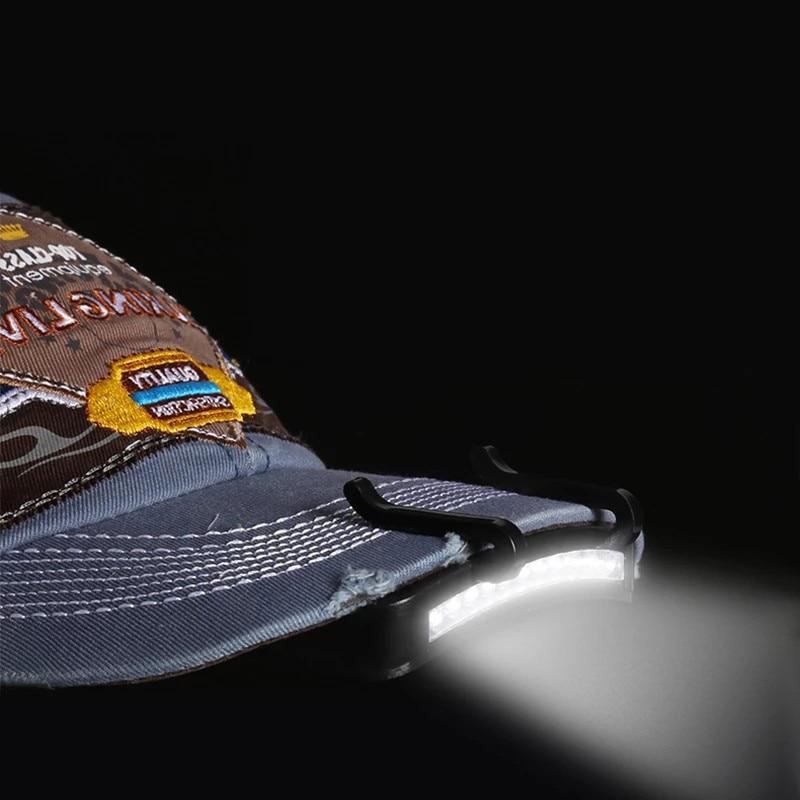 D5 супер яркий 5 светодиодный s светодиодный лампа на шапку Налобный фонарик голова Кепка шапка лампа на шапку фар клип на свет рыболовный Гол...