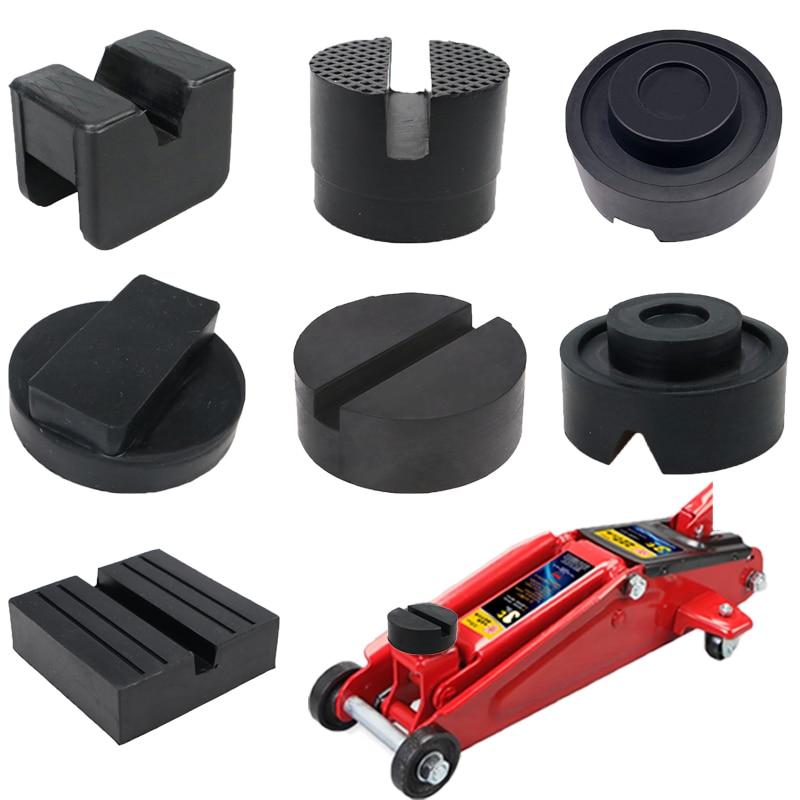 Разные типы, портативный автомобильный подъемник, подставка, резиновые прокладки, черные резиновые прорези, напольная подставка, переходни...