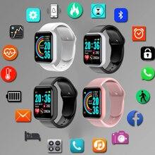 Digital Smart Sport Bracelet Women Watches Digital Led Electronic Health And beauty Wristwatch Bluet