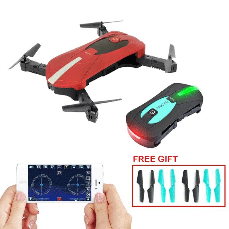 JY018 Mini Drone plegable Nano con cámara WiFi FPV mantenimiento de altitud RC Quadcopter 2,4G RC helicóptero juguetes para niños regalo v JJRC H37