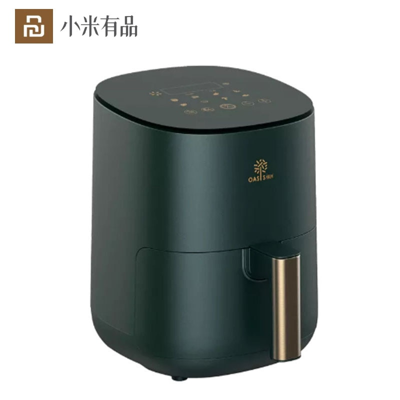 Review Youpin Smart oil-free Air Fryer Household Non-Stick Cooking Surface Digital Electric Control Oil Free Air Fryer