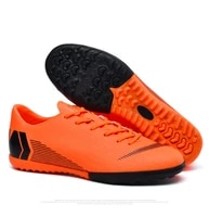 soccer shoes for men football boots kids high ankle soccer cleats waterproof sport sneakers futsal shoes