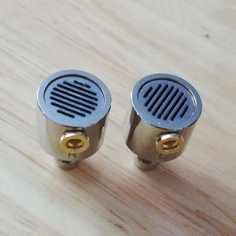 10mm 11mm DIY Headphone Shell Case MMCX Stainless Steel Metal Headphone Housing DIY for 10mm 11mm Sp