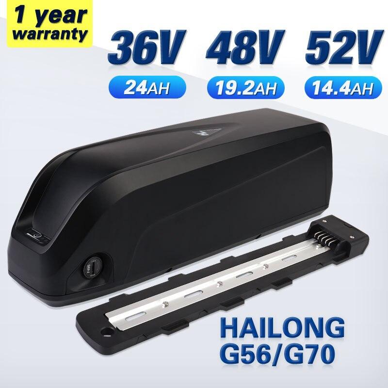 الأصلي 48V20AH 48V بطارية 52V ebike بطارية 36V Hailong زائد 40A BMS 21700 الخليوي BBSHD BBS02 BBS03 350W 500W 750W 1000W 1500W