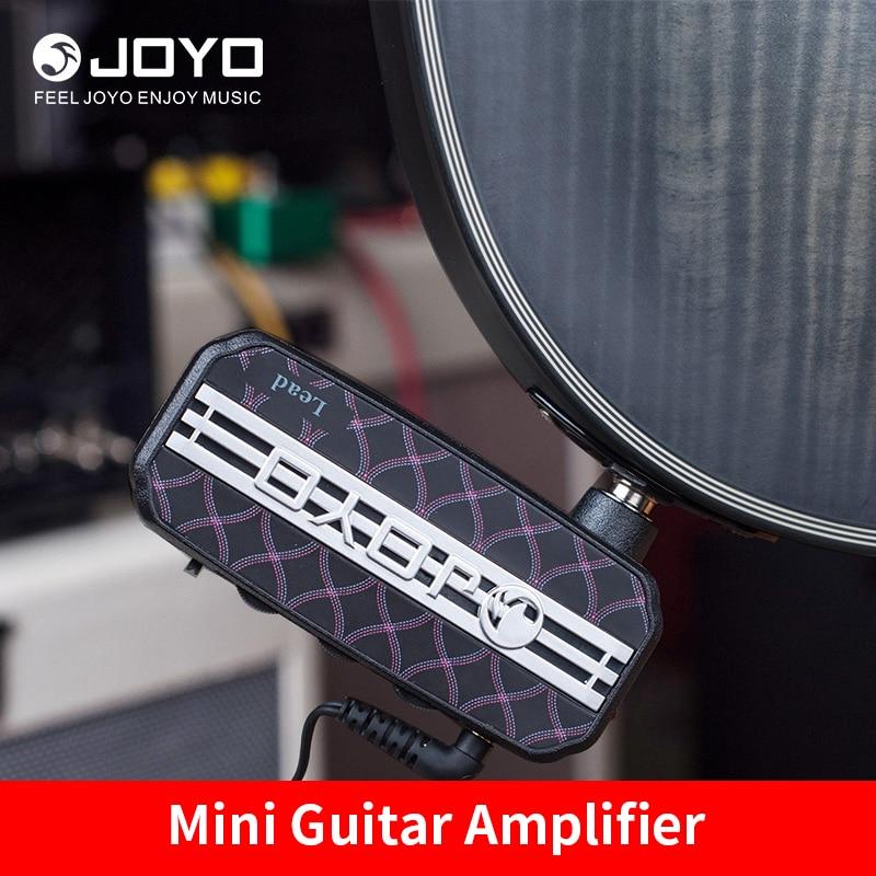JOYO JA-03 Mini Guitar Amplifier Amp Pocket Powerful 6 Sound Effects Metal&Lead&English Channel&Super Lead&Tube Drive & Acoustic