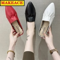 the new 2021 ladies muller slippers fashion pointed all purpose party shoes slingback sandals for women bottoms womens