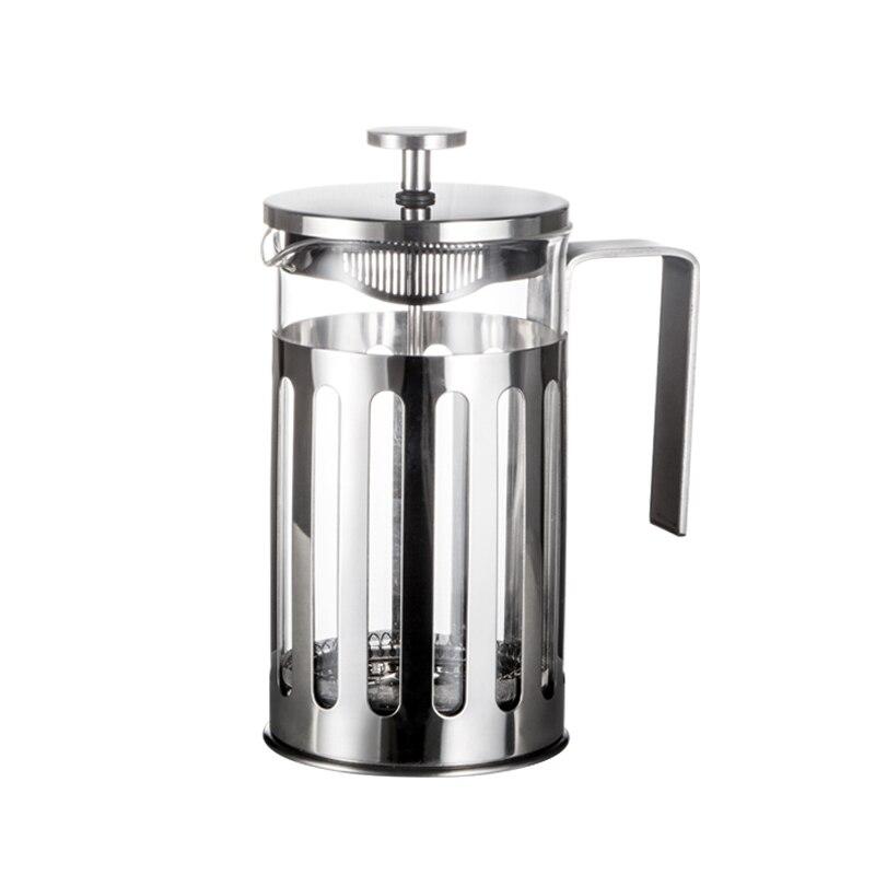 Cafetera portátil De vidrio para acampar, filtro De café Espresso, Cafetera De...