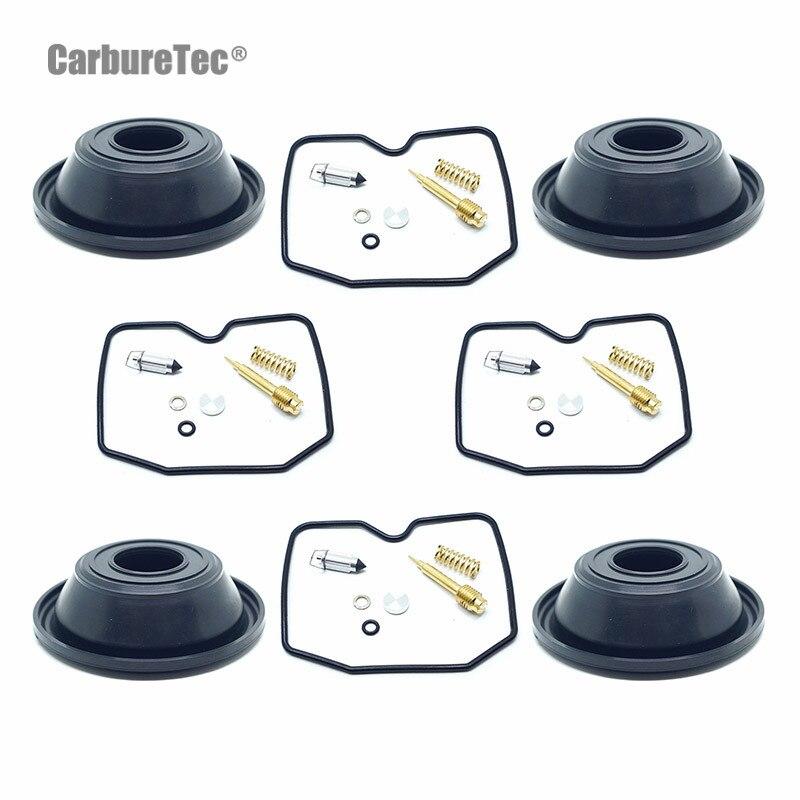 for-kawasaki-zrx1100-zrx1200-gpz1100-zrx-1100-1200-gpz-carburetor-repair-kit-carb-vacuum-diaphragms-seals-rebuild-parts-4-sets