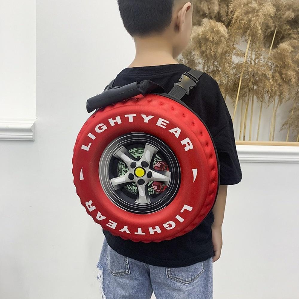 AliExpress - Tire Shape Designer Bag Children Schoolbag 2020 Fashion Printed EVA Unisex Backpack Large Capacity Handbag Boy and Girl Backpack