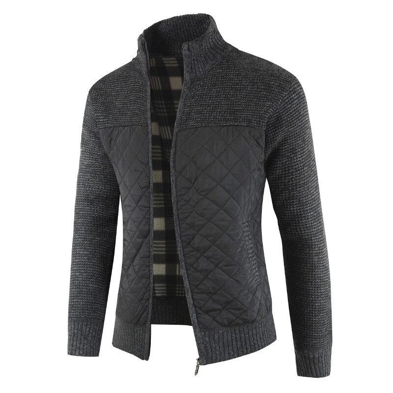 Качественные мужские свитера на осень и зиму, теплый вязаный свитер, куртки, кардиганы, пальто, Мужская одежда, повседневная трикотажная оде...