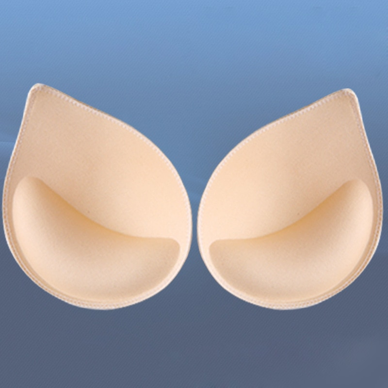 AliExpress - Women Girl Sponge Foam Bra Pad Set 3/2/1Pair Push Up Breast Intimates Swimsuit Bikini Padding Cup Chest Enhancers Insert Cup