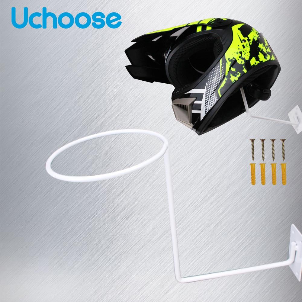 Motorcycle Helmet Support Holder Wall Mounted Hanger Wall bracket Aluminum Hook Rack For Hat Cap Motorcycle Accessories